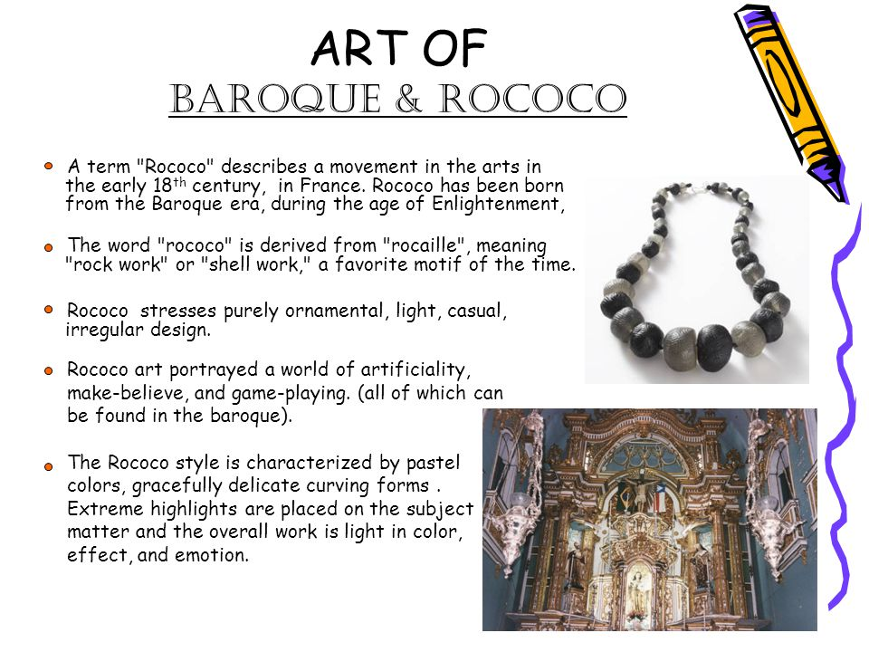 Art study of art history ppt video online download for Origin of the word baroque