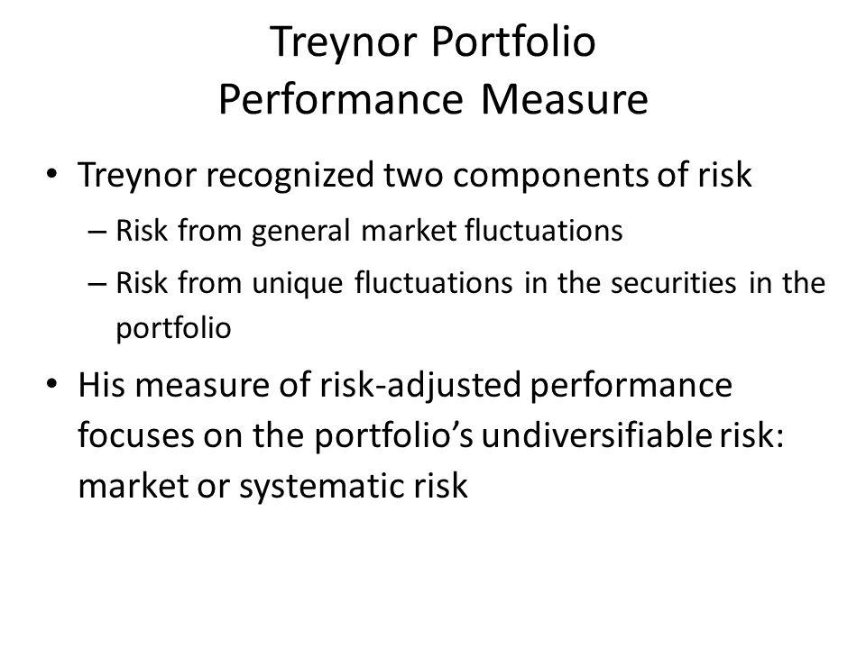 treynor`s ratio =