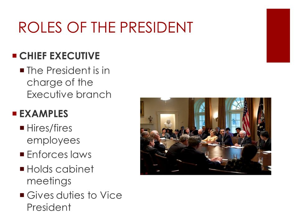 roles of president President sample job descriptions, sample job responsibilities for president, president job profile, job role, sample job description for president.