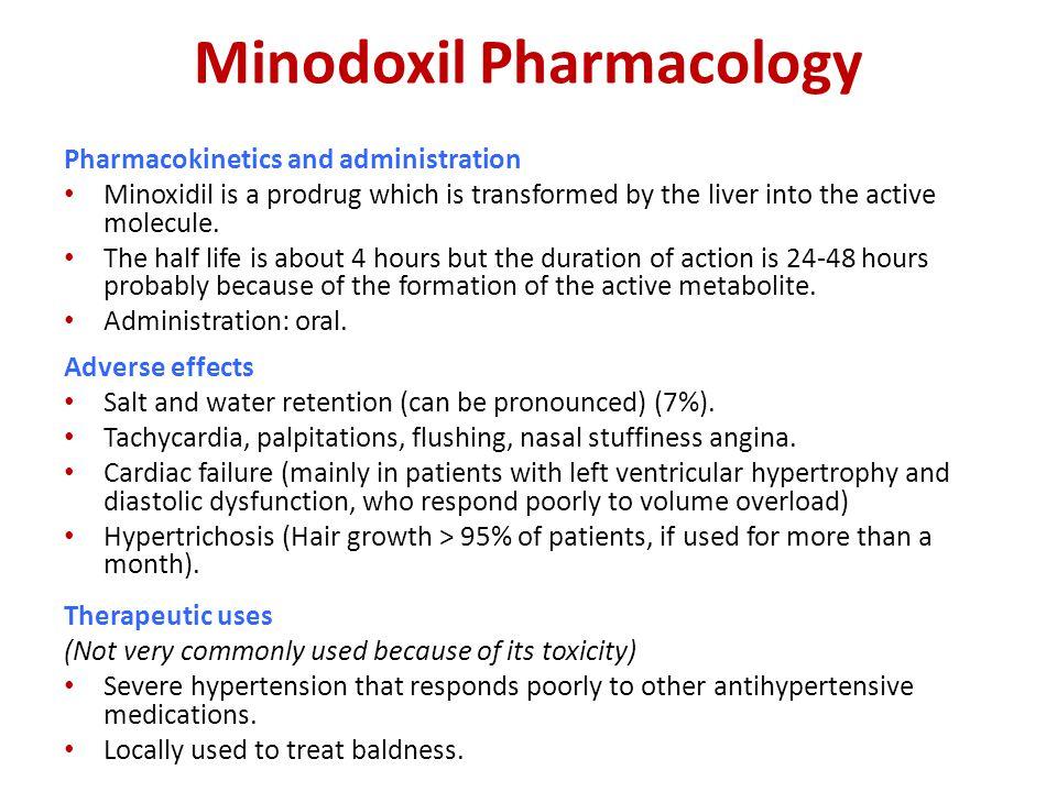 Minodoxil Pharmacology