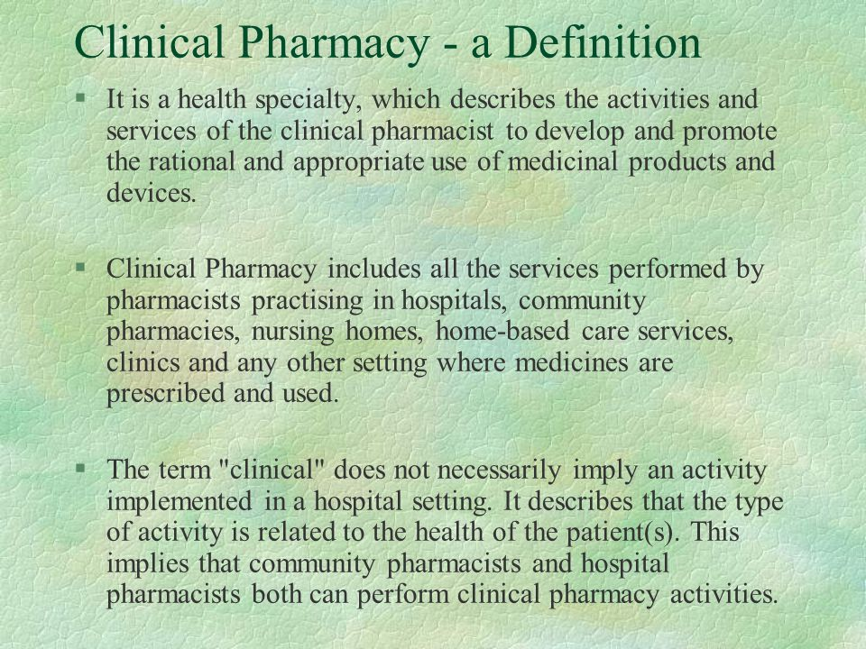 clinical pharmacy dr  mohammed al