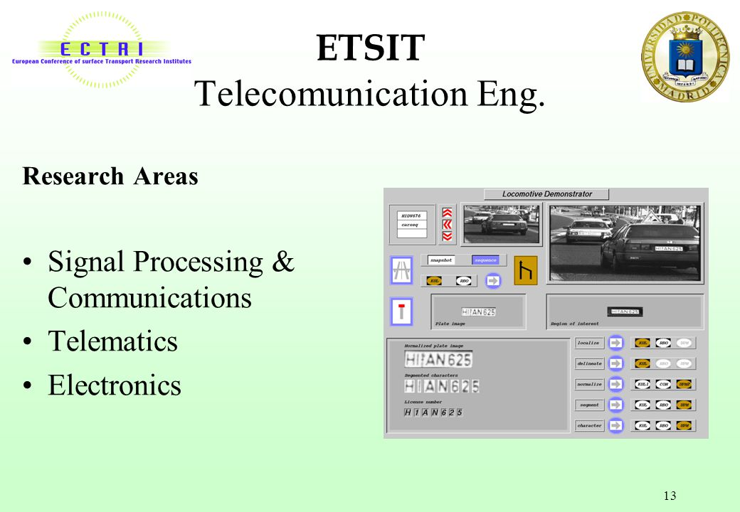 ETSIT Telecomunication Eng.