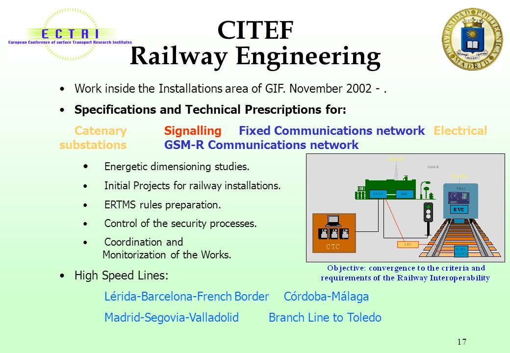 CITEF Railway Engineering