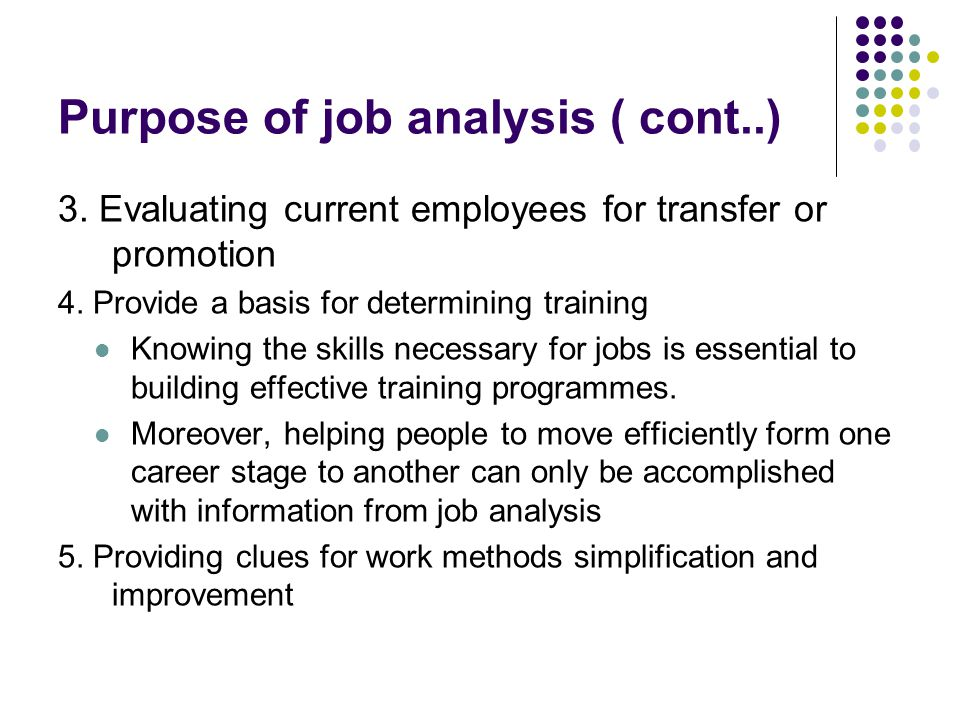 Job Analysis And Job Design - Ppt Download