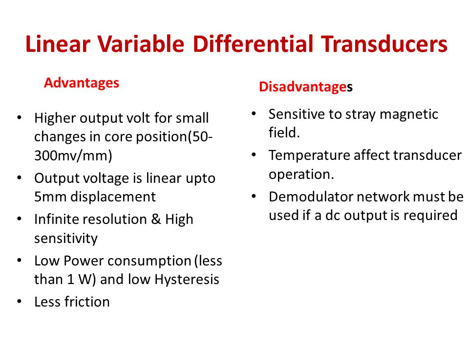 linear variable differential transducer pdf