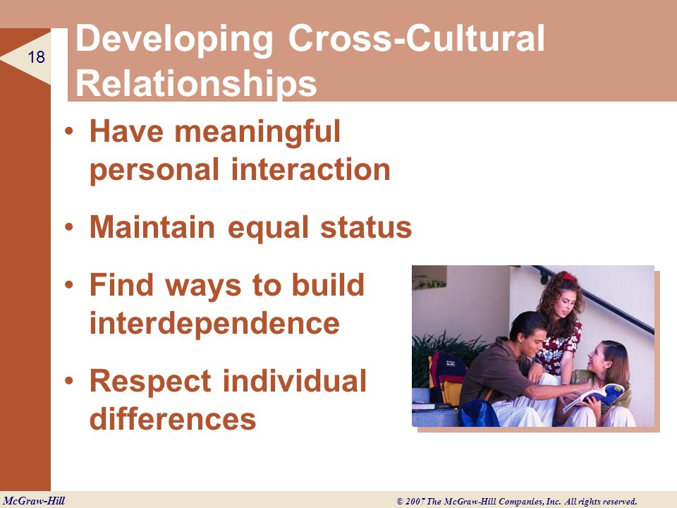 cultural differences and interpersonal interactions a personal The first thing we've got to master before even attempting to communicate with people of another culture is cultural sensitivity, the understanding and respect of differences between cultures it.