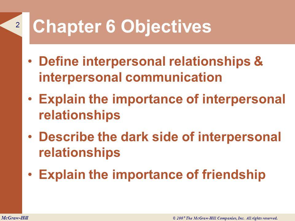 interpersonal communication blind side