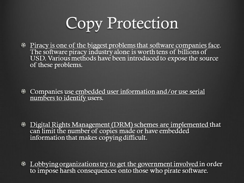 research paper on software piracy Affecting the software piracy, very little research was related to islamic societies   paper, we intend to examine consumer ethical decision making and social.