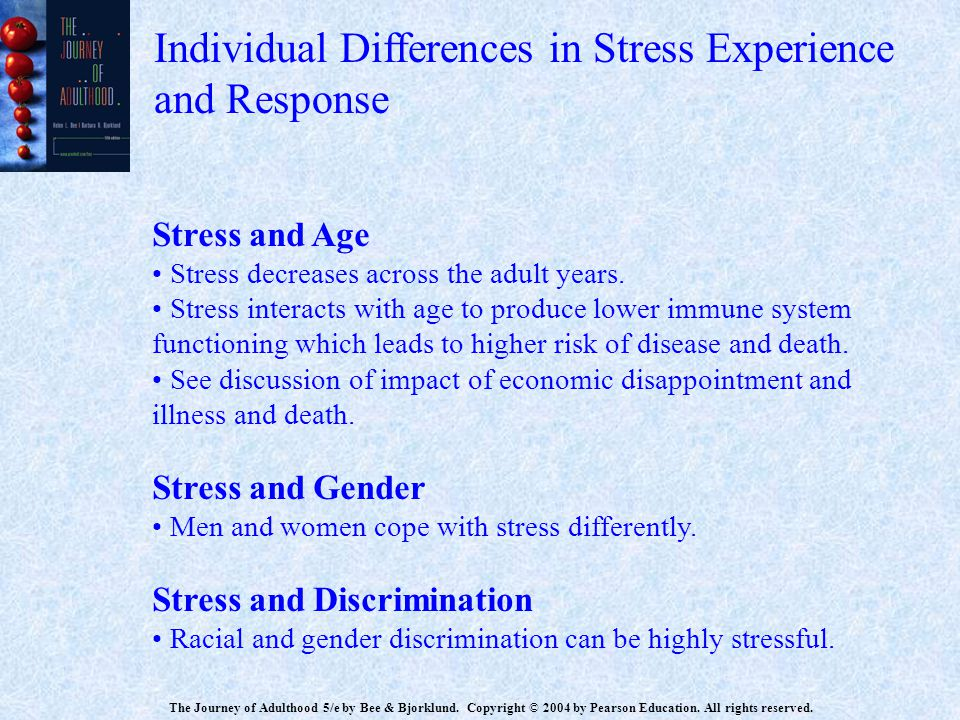 Individual Differences in Stress Experience and Response