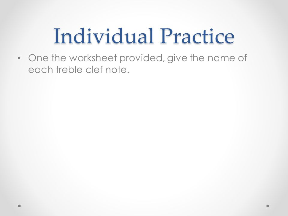 Music Anatomy and Reading Treble Clef - ppt video online download