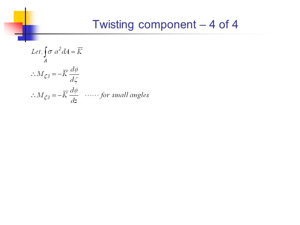 Twisting component – 4 of 4