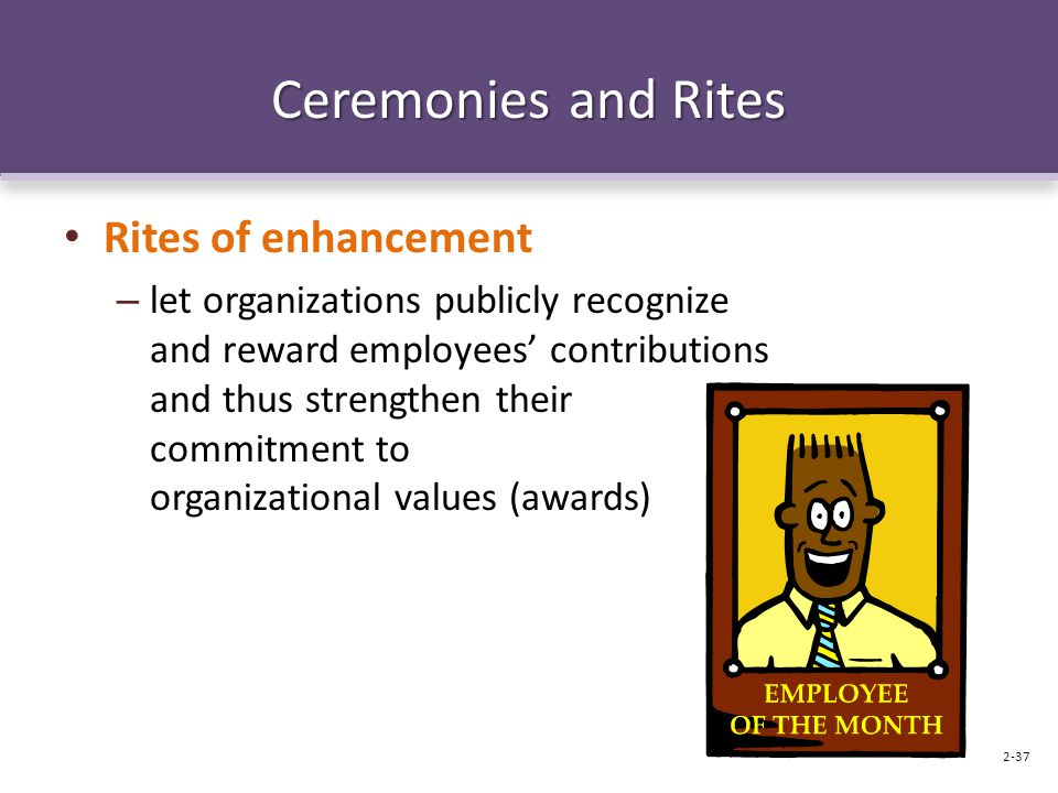 Ceremonies and Rites Rites of enhancement