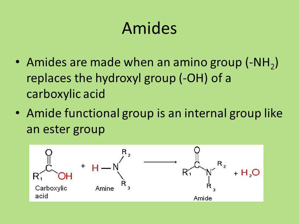 formation of amides Formation of amides: one-pot condensation of carboxylic acids and amines  ˜e direct formation of amides by c-activated carboxylic acids and amines is extremely attrac-  moting the condensation of carboxylic acids and amines in refluxing t[ 20, 21.