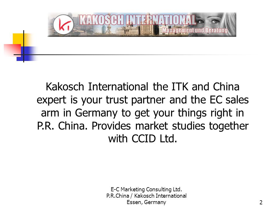 We are leading your business to China - ppt download