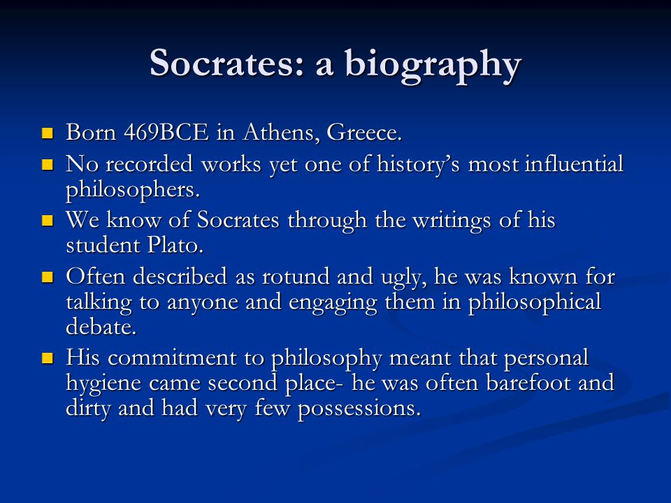 an introduction to the history of socrates But here is an opportunity for those who would like an introduction to socrates to get a generous taste of the life and thought of this illustrious.