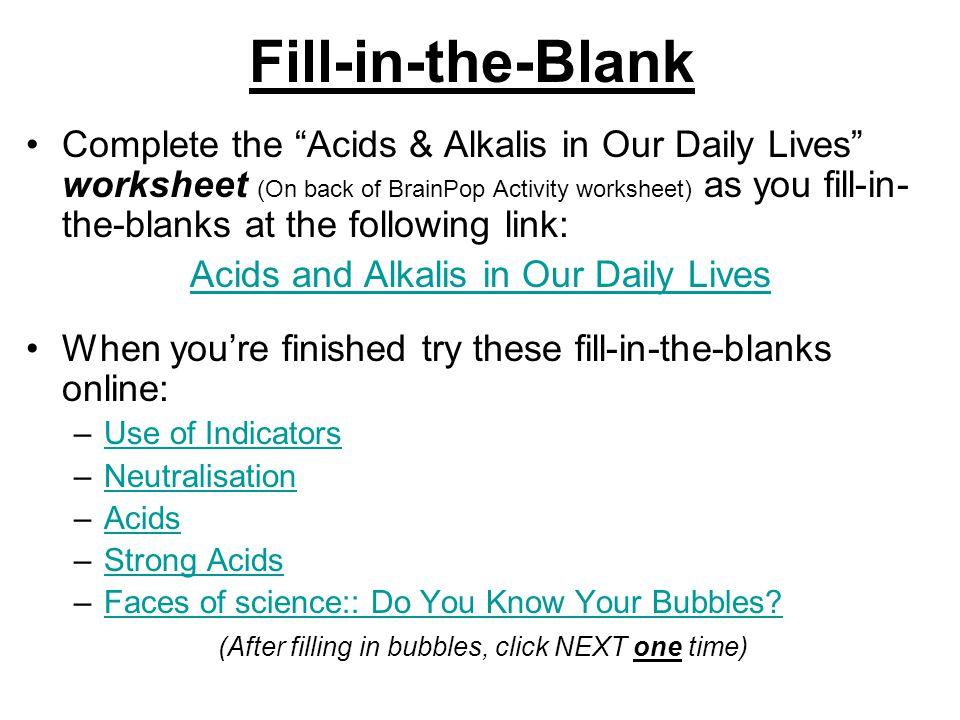 Determine how to Balance pH ppt video online download – Alien Juice Bar Worksheet