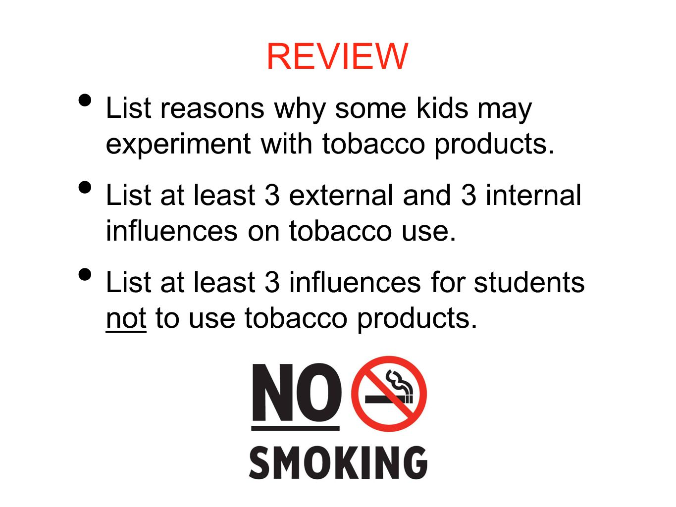 marketing and tobacco products Tobacco products are one of the most heavily marketed consumer products in the  us in 2012, the latest year for which information is available, the five largest.