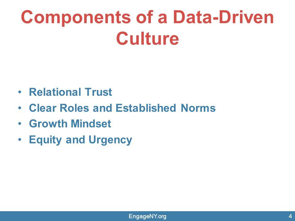 how to drive a data driven culture