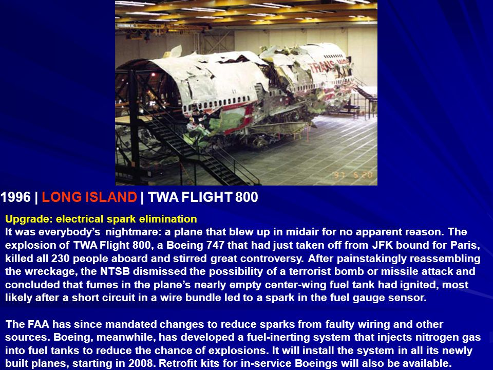 Image result for explosion of twa flight 800