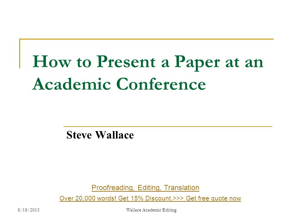 Papers academic discount