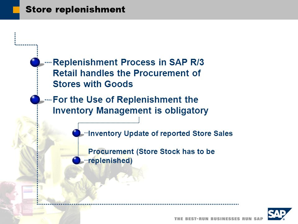 process of procurement of merchandise in retail Procurement, goods movement and sales postings make up the mass business of a store with sap retail store, these postings can be executed by employees directly in.