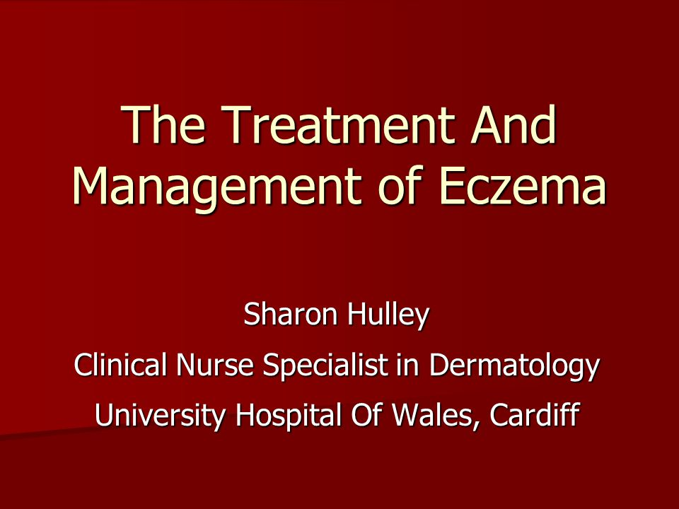 a definition and discussion of eczema