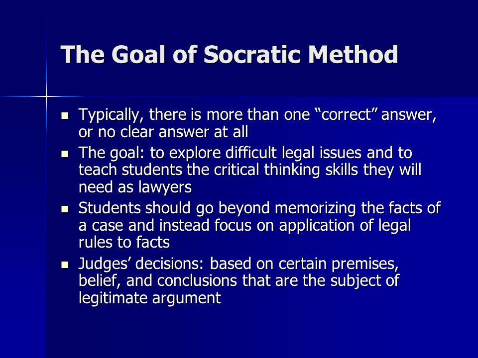 socratic method in education