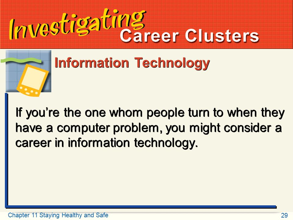 Investigating Career Clusters