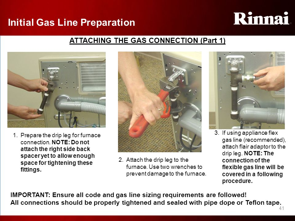 Rinnai Wall Furnace Sizing Frequently Asked Questions