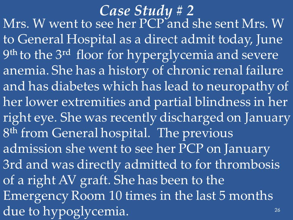 Case study- Gestational Diabetes and neonatal hypoglycemia ...
