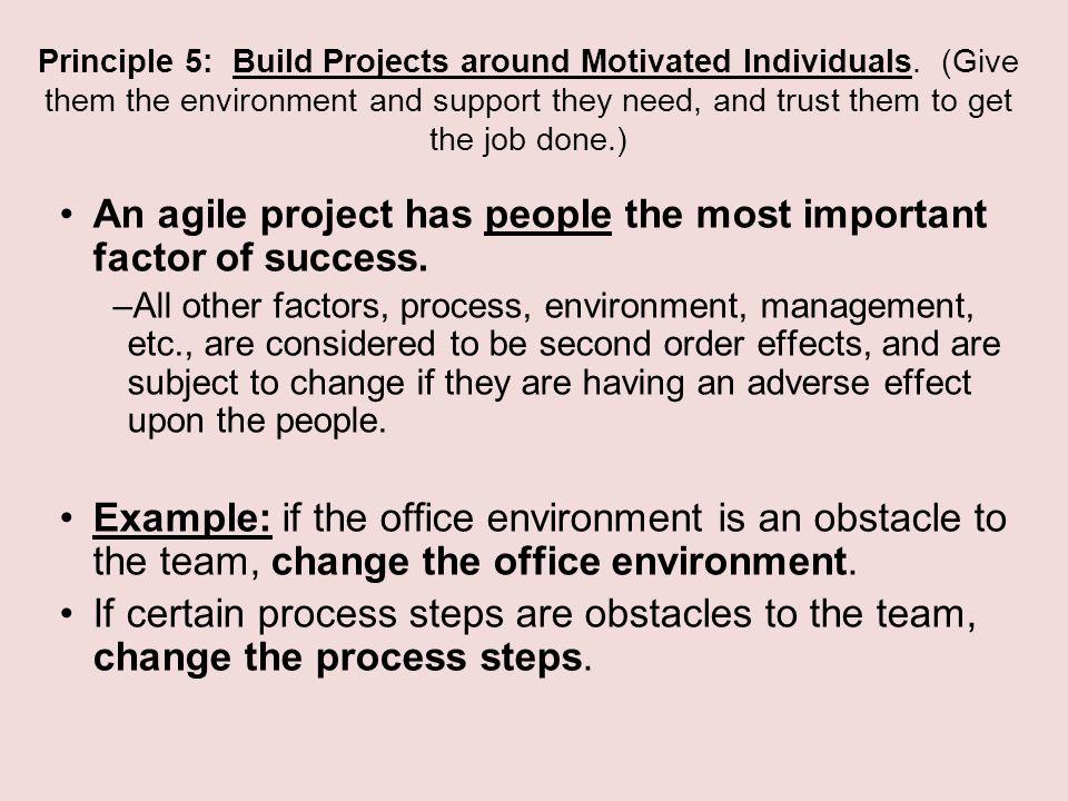 agile process management is success critical Critical success factors in agile software development projects:  critical success factors, agile software development projects,  an agile process is one.