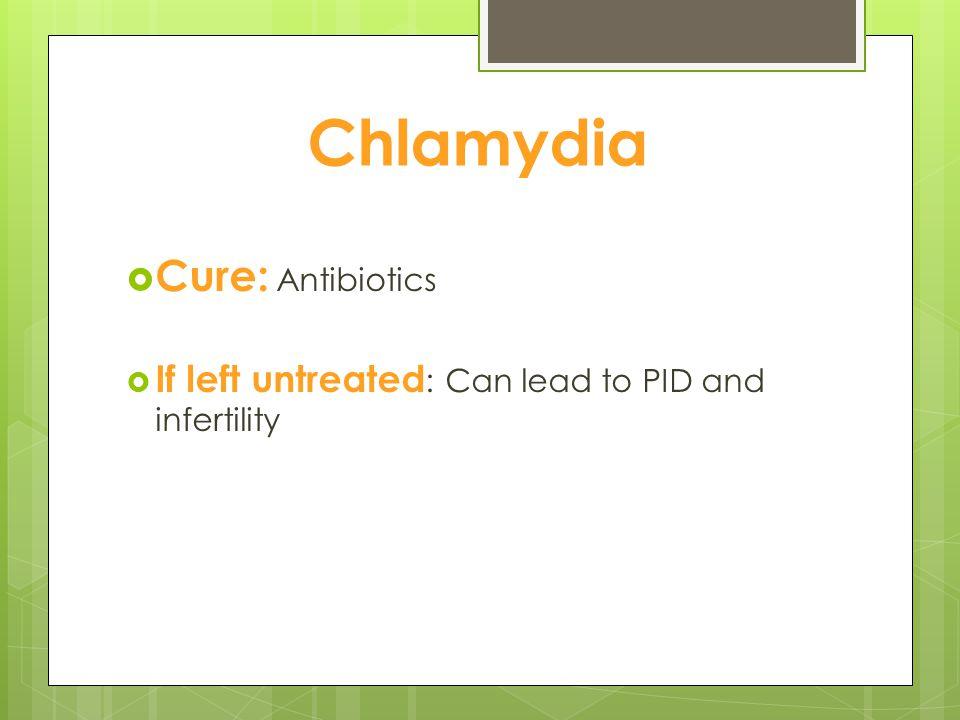Chlamydia Cure: Antibiotics