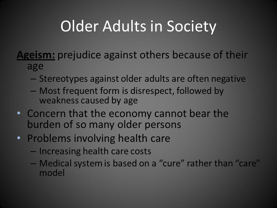Development in Late Adulthood - ppt video online download