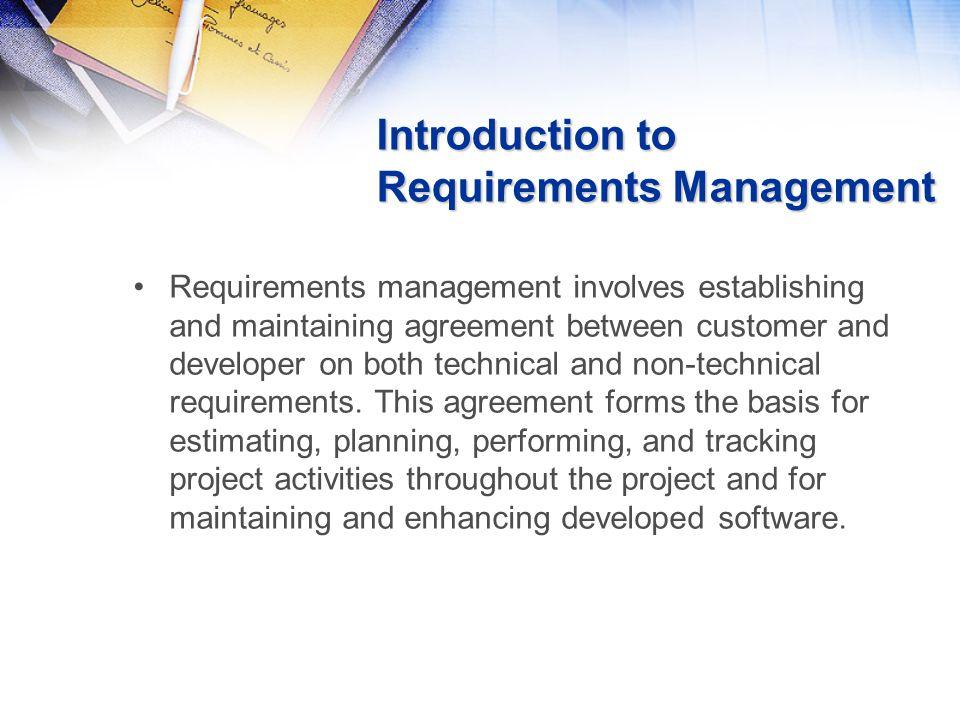 Requirements Management Plan - Documents - ppt download