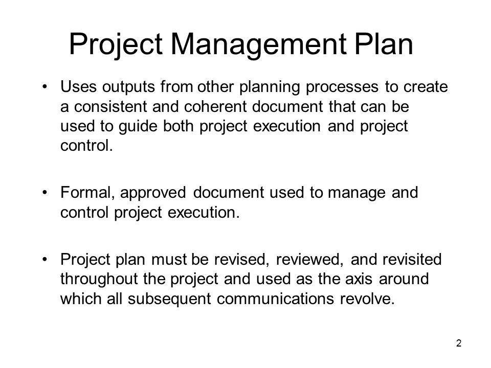 Advanced Project Management Project Plan Templates - Ppt Video