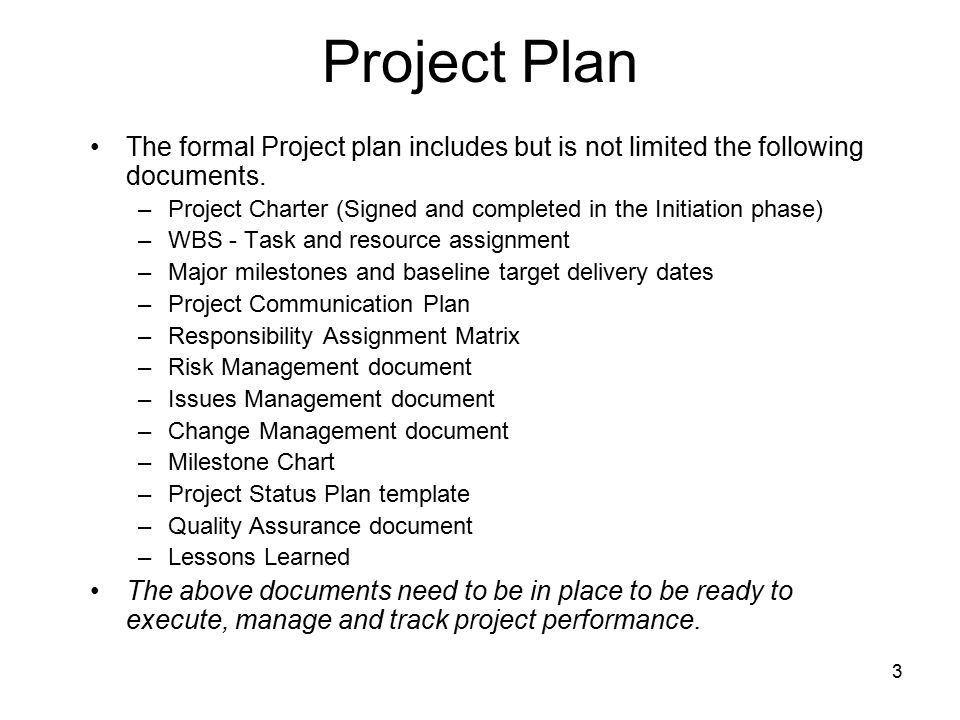 advanced project management project plan templates ppt video  3 project