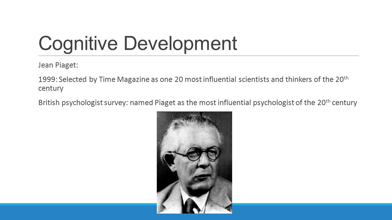 PSYCHOLOGY: Application of Jean Piaget Theory of Cognitive Development