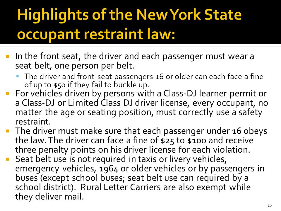 New york state dating age laws