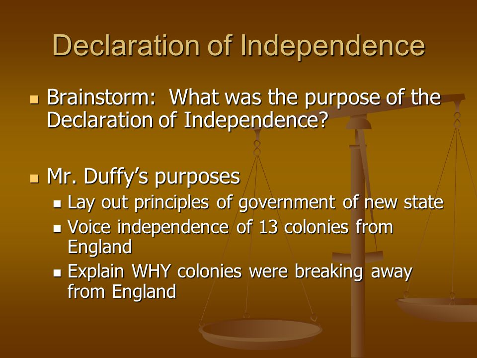 """the basic ideals of the declaration of independence Freedom and the american revolution both the declaration of independence and the us ⋅ wh22f """"assess the degree to which american ideals have advanced."""
