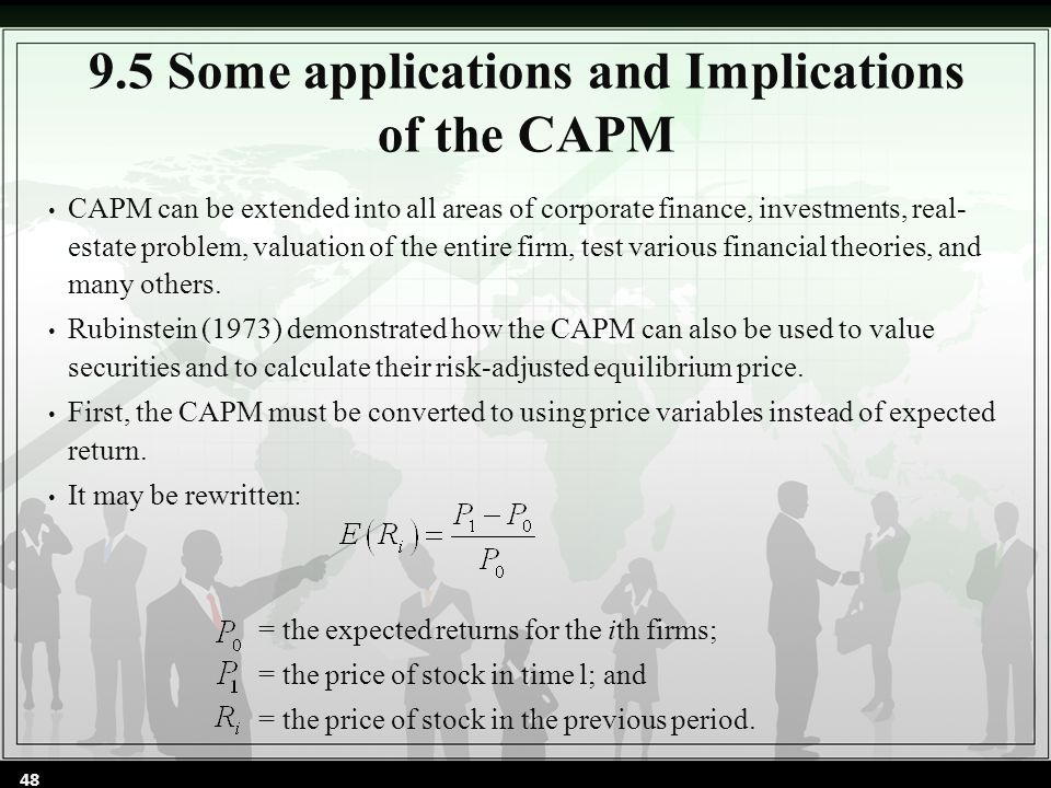 how to calculate market return in capm model