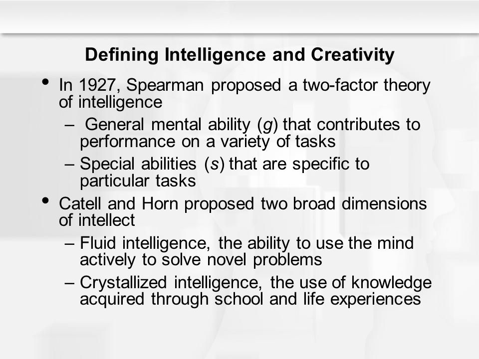 intelligence quotient