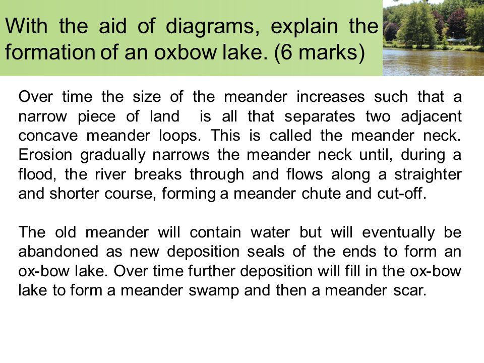 Landforms in the Lower Course - ppt video online download