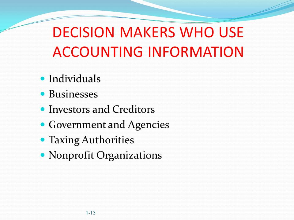 the use of financial accounting information All businesses whether small or large need to collect and process their financial data types of accounting information systems for business.