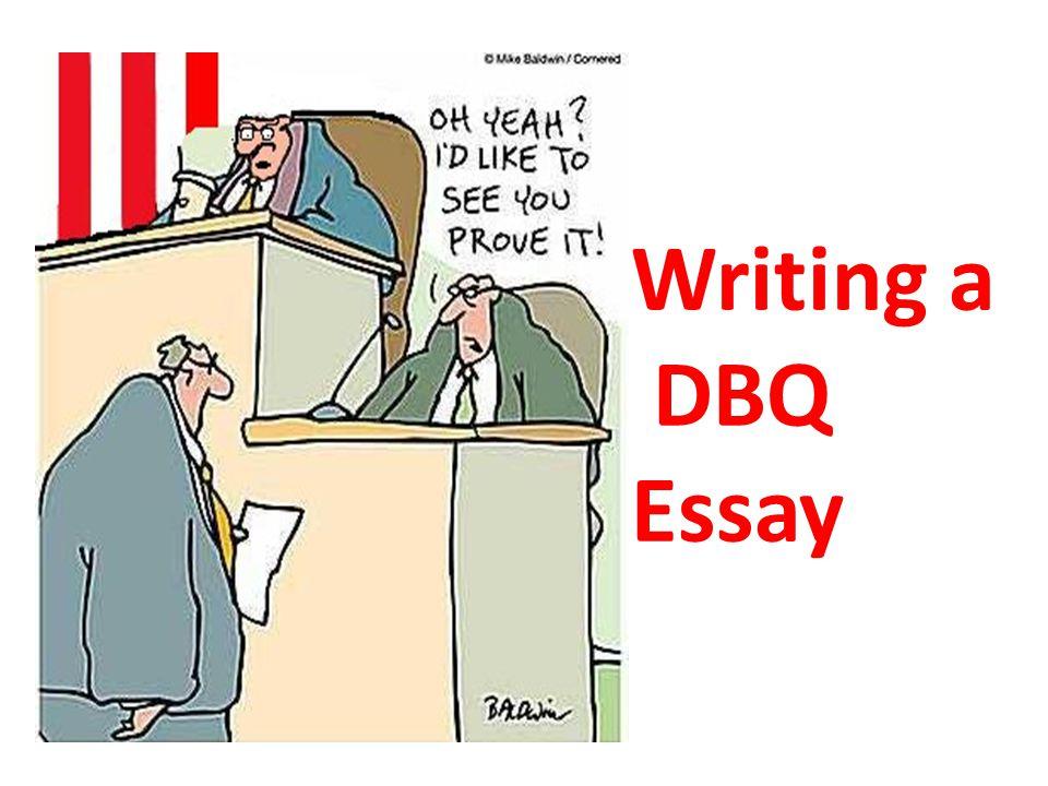 writing a good dbq essay