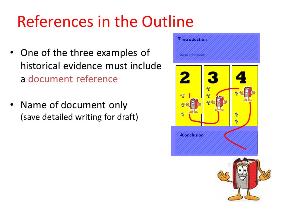 References in the Outline