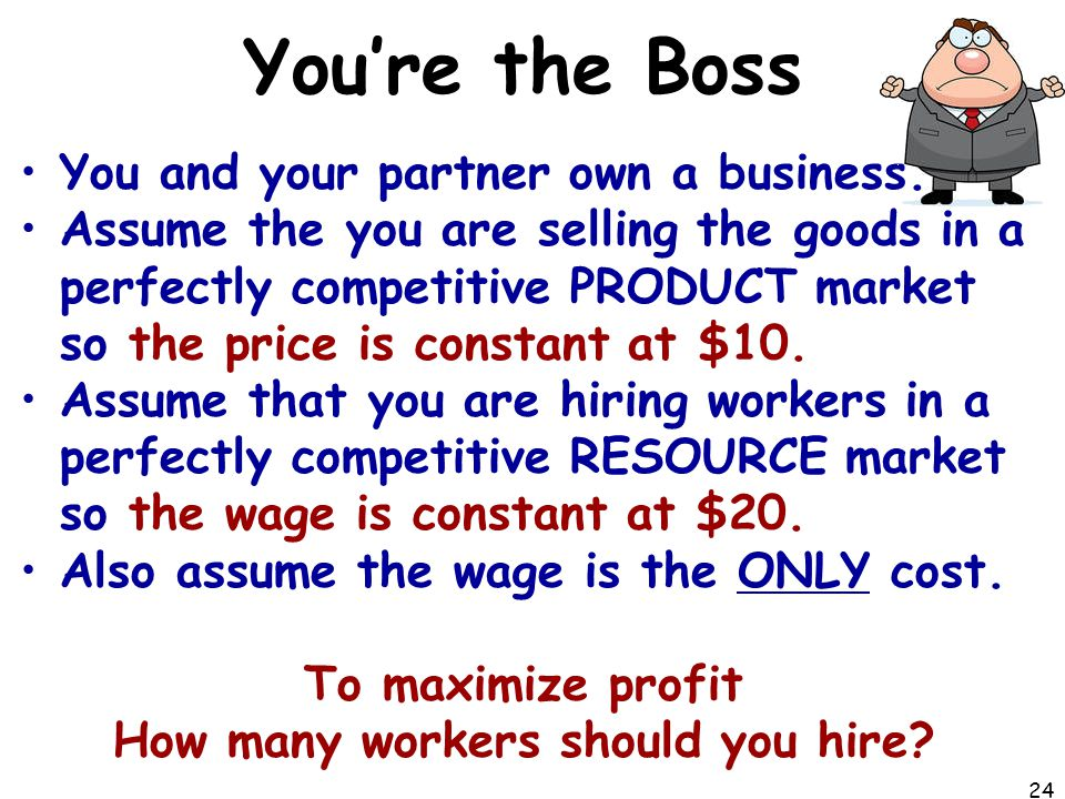 How many workers should you hire