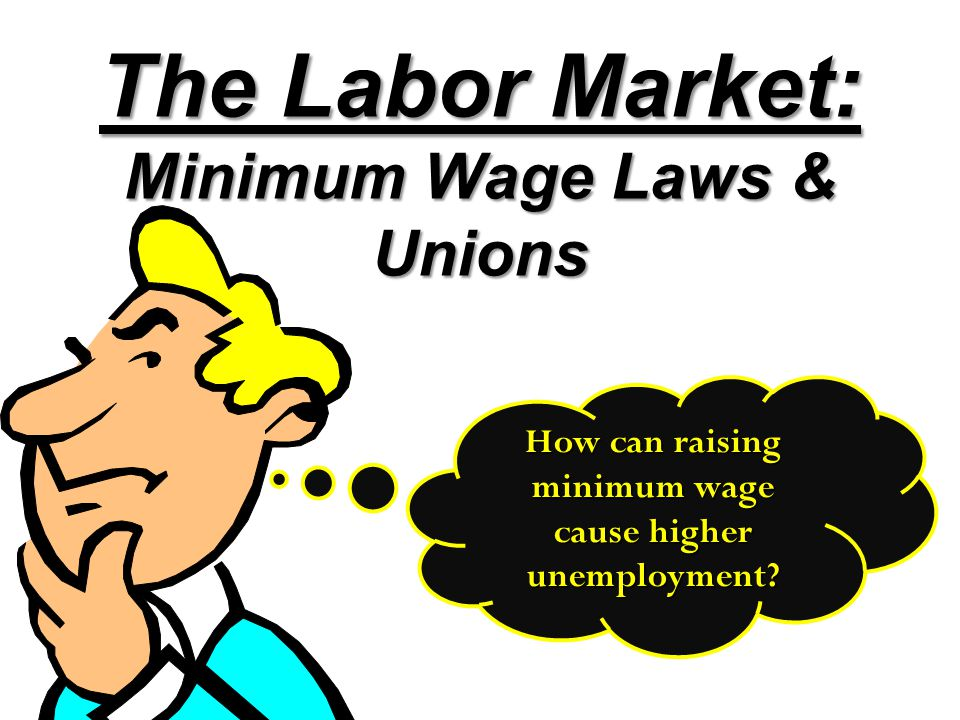 The Labor Market: Minimum Wage Laws & Unions