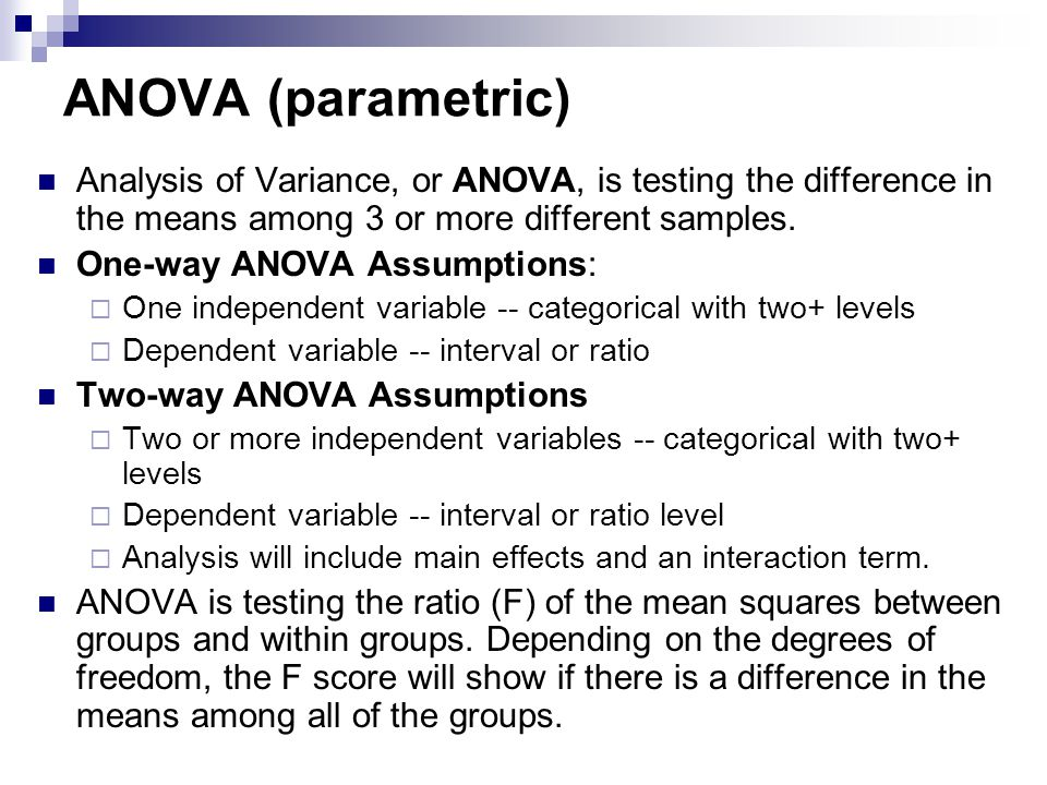 what is the relationship between two sample test and anova