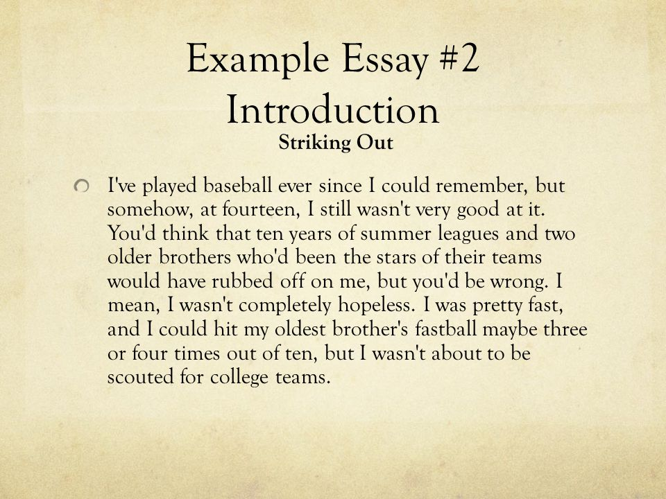 introduction to baseball essay Introduction baseball is considered to be america's favorite pastime and has become popular all over the world pete rose baseball scandal essay.