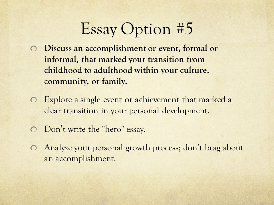 Personal and professional development mba essay